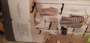 Double Rod Closet Organizer for Sale in Dundee, OR