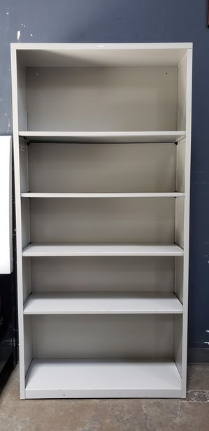 HON Brigade Metal 5-Shelf Unit/Bookcase/Adjustable Shelves for Sale in Park Ridge, IL