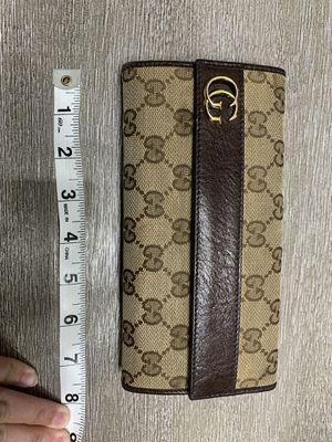 Dark brown Gucci wallet for Sale in San Antonio, TX