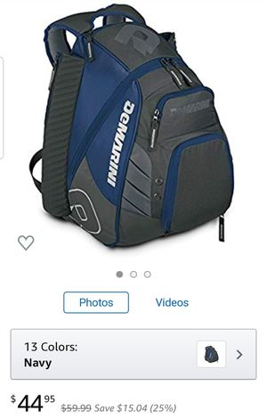DEMARINI VOODOO REBIRTH NAVY LARGE BACKPACK for Sale in Rancho Cucamonga, CA
