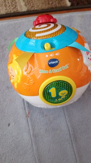 Kid toy Vtech move and crawl ball used like new for Sale in Silver Spring, MD