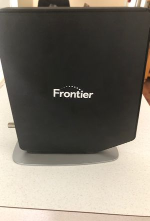 Frontier cable modem and router for Sale in Riverview, FL