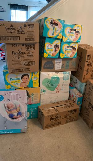 Pampers and baby products for Sale in Del Valle, TX