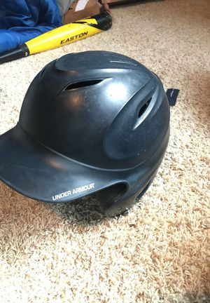 UNDER ARMOUR BASEBALL BATTING HELMET 6 1/2 - 7 3/4 for Sale in Seattle, WA