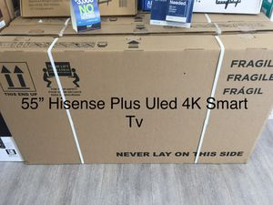 $39 DOWN/ 55 INCH HISENSE PLUS 4K SMART TV 📺 for Sale in Chino, CA