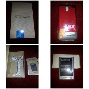 Samsung galaxy note 3 box for Sale in Pittsburgh, PA