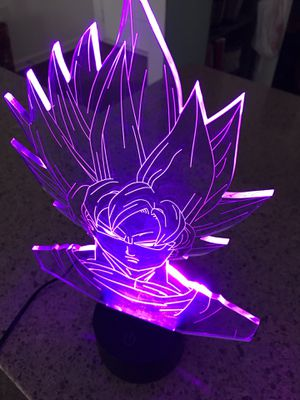 Dragon ball Z LED 3D lamp *Brand New* for Sale in Virginia Beach, VA