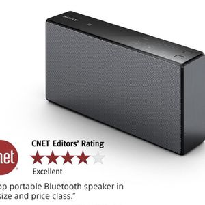 Sony SRSX5 Portable NFC Bluetooth Wireless Speaker System (Black) with Speakerphone for Sale in Springfield, MO
