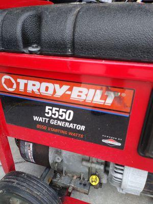 Troy - Bilt 5500 watt generator. for Sale in Cape Coral, FL