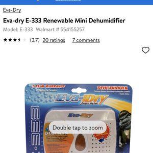 Eva-dry Renewable Mini Dehumidifier for Sale in Alexandria, VA