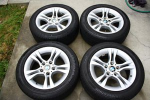 Bmw OEM rims for sale with tires for Sale in UNIVERSITY PA, MD