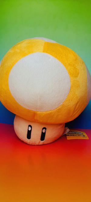 Super Mario Yellow Mushroom Japan Edition 10 Inch Plush Toy for Sale in Santa Ana, CA