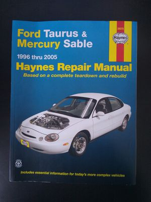 Ford Taurus & Mercury Sable Manual for Sale in Nashville, TN