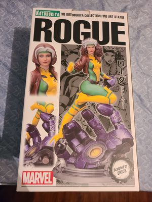 Kotobukiya Marvel Fine Art Statue Danger Room Sessions Rogue Resin Figure Very Rare Like New Open Box for Sale in Anaheim, CA