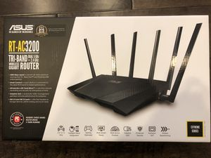 Asus Router RT-AC3200 Tri-band for Sale in Irvine, CA
