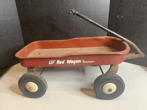 Vintage ROADMASTER Lil Red Wagon for Sale in Nashville, TN
