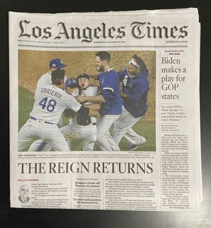 LA times newspaper for Sale in Los Angeles, CA