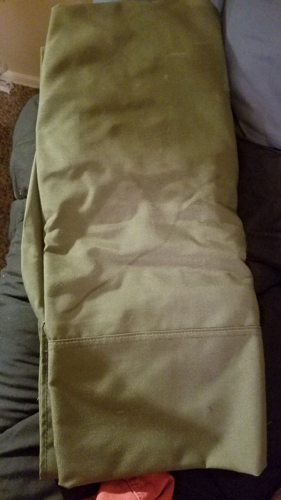 Military issue duffle bag