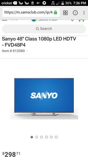"48"" Sanyo 1080p flat screen tv for Sale in Alexandria, LA"