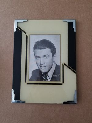 Art Deco Jimmy Stewart Picture Frame for Sale in Chevy Chase, MD