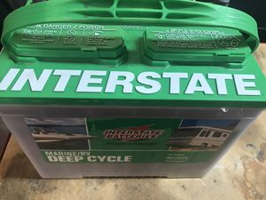 Marine / RV Deep Cycle Battery New for Sale in Riverside, CA