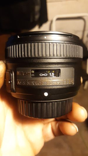 Nikon 50mm 1.8G for Sale in Tacoma, WA