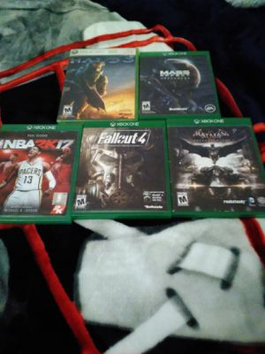XBOX ONE GAMES ALL FOR $20! PICK UP ONLY! (READ DESCRIPTION) for Sale in Phoenix, AZ