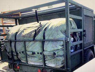Diesel generator camping tent trailer for Sale in Redondo Beach,  CA
