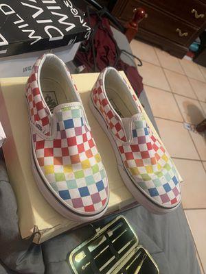 Vans rainbow checkered for Sale in Hialeah, FL