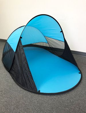"""(NEW) $25 Portable Pop Up Beach Canopy Instant Tent Outdoor Hiking Camping Shelter (86x47x35"""") for Sale in Whittier, CA"""