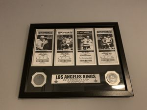 LA Kings Framed 2014 Stanley Cup Tickets - Like New for Sale in Torrance, CA
