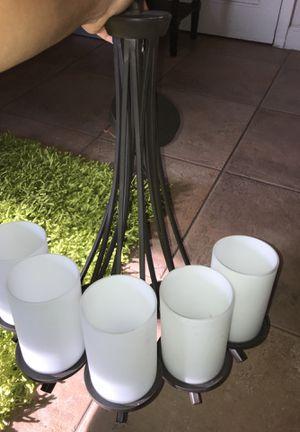 5 bulb chandelier for Sale in Miami, FL
