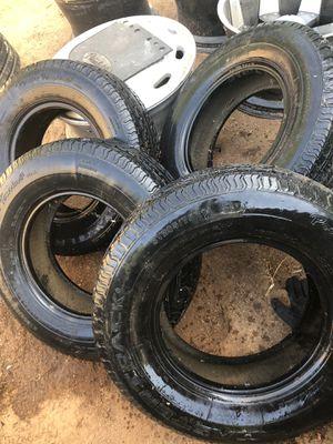 Trailer tires 75r14 for Sale in Riverside, CA