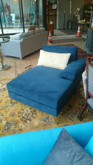 Navy Blue Chaise Lounge - New for Sale in Buffalo, NY