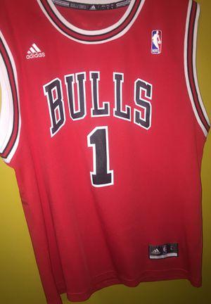 Adidas Derrick Rose Bulls Jersey for Sale in Garner, NC