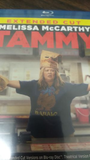 Melissa McCarthy's Tammy extended cut Blu-ray DVD brand new for Sale in Gilroy, CA