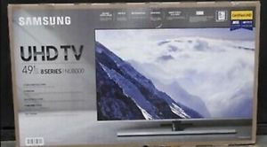 "49"" SAMSUNG UN49NU8000 4K UHD HDR LED SMART TV 240HZ 2160P *FREE DELIVERY* for Sale in Lakewood, WA"