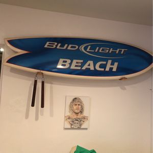 Bud Light Fish Surfboard for Sale in San Diego, CA