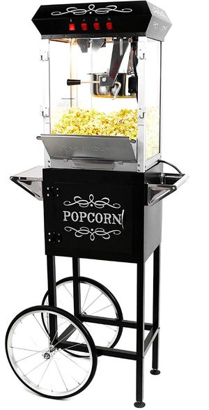 POPCORN MACHINE WITH CART !!! for Sale in Wilsonville, OR