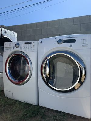 Lg washer and ge dryer @delivery available for Sale in Phoenix, AZ