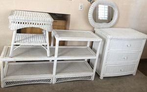 "Pier one ""Bristol Collection"" wicker furniture set. for Sale in Oakley, CA"