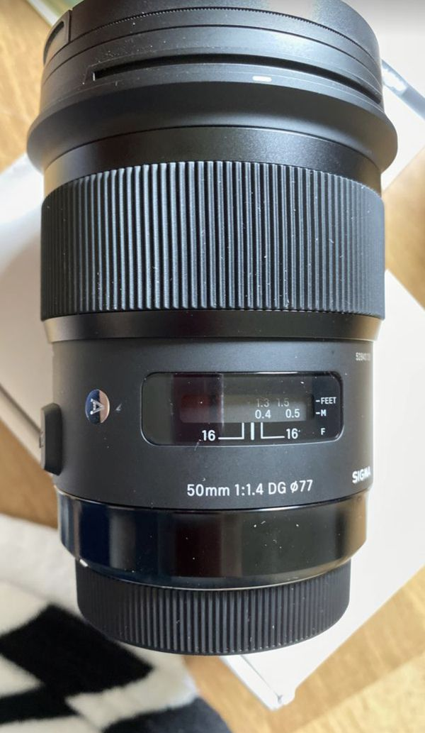 Sigma 50mm F 1.4 DC HSM ART(For Canon- King 4)