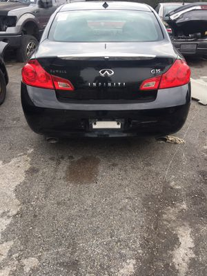 2009 2010 2012 Infiniti g35 parts only for Sale in Plano, TX