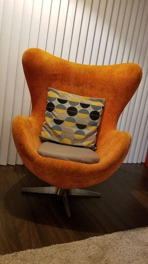 Lounge Chair Orange for Sale in Arlington, VA