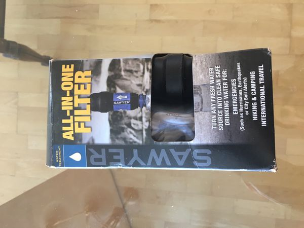 Like New Never Used Sawyer water Filter - All in One