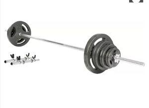 Fitness gear 135lb barbell for Sale in San Fernando, CA