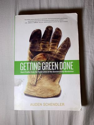 Getting Green Done By Auden Schendler for Sale in Brownstown Charter Township, MI