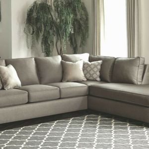 Pay just 40 now - Brown/Grey Chaise Sectional Sofa for Sale in Los Angeles, CA