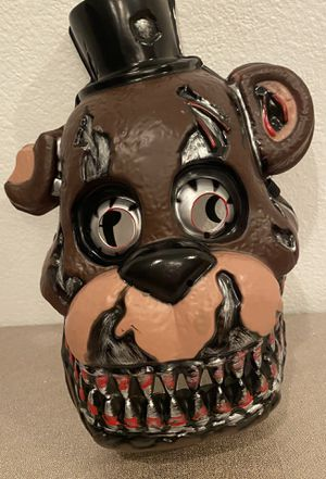 Rubies Costume Men's Five Nights Nightmare Freddy 3/4 mask for Sale in Ladera Ranch, CA