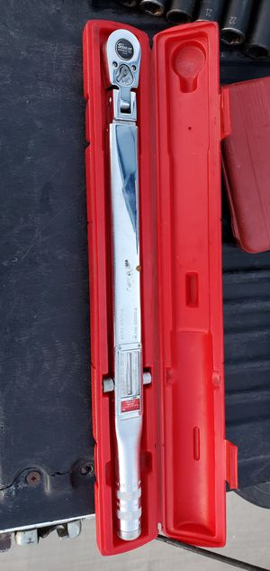 Snap on torque wrench for Sale in Hesperia, CA